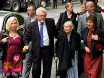 Rolf Harris Trial Continues At Southwark Crown Court