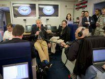 US Secretary of Defense Chuck Hagel Visits American Forces In Afghanistan