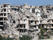 Aleppo has been devastated by the ongoing war