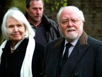 Sir Richard Attenborough and his wife Sh