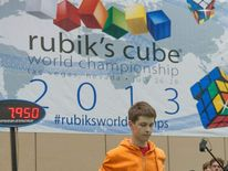 Speedcuber Showdown in Las Vegas at the 2013 Rubik's Cube World Championship