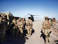 British Army medics in Afghanistan