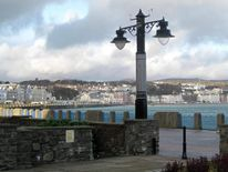 The seafront of Douglas, the capital of the Isle of Man