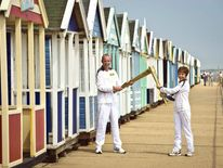Olympic Torch Relay In Southwold
