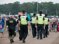 V Festival at Weston Park after man found dead in a tent 19/08