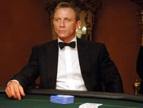 "Daniel Craig, who made his debut as James Bond in ""Casino Royale."""