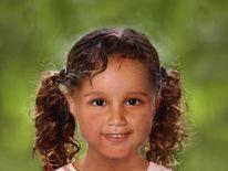 how missing girl Atiya Anjum-Wilkinson might look aged 4-5