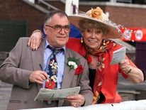Former Coronation Street stars, Liz Dawn and Bill Tarmey, who played Jack and Vera Duckworth for many years