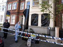 Fulham Murder Scene
