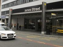 View of James Street Station in Liverpool