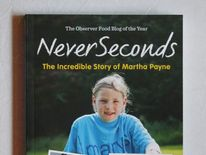 School dinner blogger Martha Payne's book Never Seconds: The Incredible Story of Martha Payne