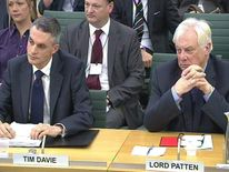 Tim Davie Lord Patten at the Commons Culture, Media and Sport Committee