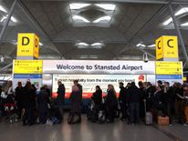 Queues at Stansted
