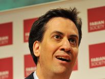 Ed Miliband, the leader of the Labour Party.