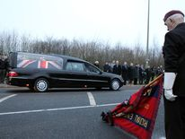 Repatriation of fallen servicemen Sapper Richard Walker