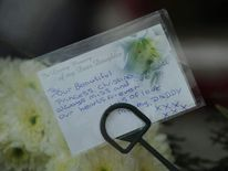 Christina Edkins' funeral