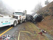 95-vehicle pileup Interstate 77