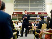 David Cameron in Kazakhstan