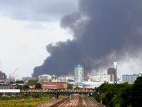 Smethwick factory fire