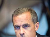 New Bank of England Governor Mark Carney.
