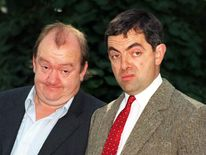 Mel Smith teamed up with old colleague Rowan Atkinson to make the hugely successful 'Bean'.