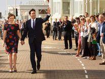 Ed Miliband and Justine