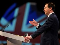 Conservative Party Conference 2013 George Osborne
