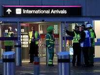 Edinburgh airport evacuation
