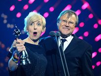 National Television Awards Julie Hesmondhalgh And David Neilson