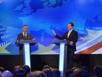 Clegg and Farage TV debate