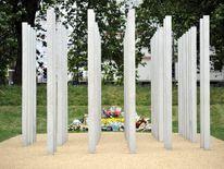 July 7 memorial defaced