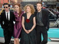 (L to R) Matt Smith, Karen Gillan, Alex Kingston, Arthur Darvill