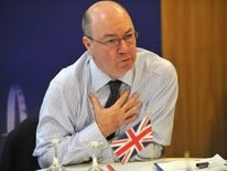 British Foreign Office Minister for the Middle East Alistair Burt