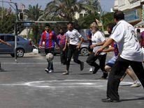 """Palestinians play alternative """"El Clasico"""""""