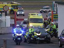 Malala airport ambulance