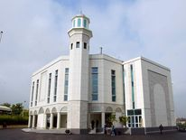 An exterir view shows the Baitul Futuh m