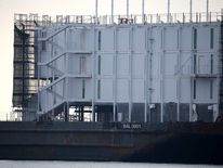 Google Barge Mystery