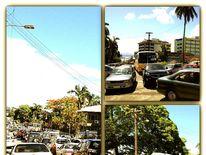 Traffic in Suva, Fiji