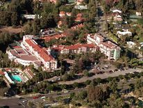 Aerial View Of The Beverly Hills Hotel