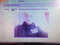 A picture Reeva Steenkamp sent to Oscar Pistorius.