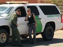 US border agents in Arizona