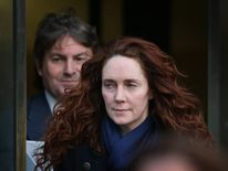 Rebekah Brooks Continues To Giving Evidence In The Phone Hacking Trial
