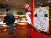 Some butchers have used the horsemeat scandal as a new marketing tool