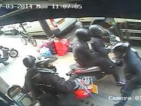 Gang who attempted armed robbery at watch store in London