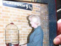 Camilla at Platform 9 and three-quarters