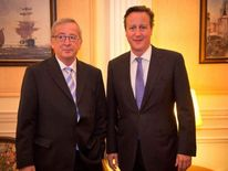 David Cameron and Jean-Claude Juncker