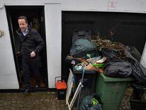 British Prime Minister David Cameron Visits Yalding