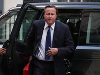 David Cameron Returns Early From Holiday To Deal With The Escalating Syrian Crisis