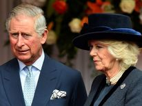 Prince Charles, Prince of Wales (L) and Camilla, Duchess of Cornwall.