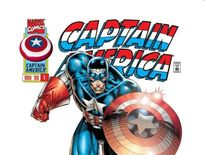 This version of Captain America featured in the Heroes Reborn series